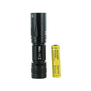 Nitecore R40 V2 Searchlight, CREE XP-L2 V6 LED Flashlight, 1200 Lumens, USB-C Rechargeable,  Long-Range, Includes 21700 Battery