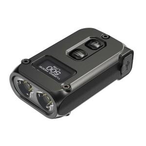 Nitecore TINI 2 Keychain LED Flashlight , USB-C Rechargeable ,  Max 500 Lumens , 2 x OSRAM P8 ,  Built-In 280mAh Li-ion Battery